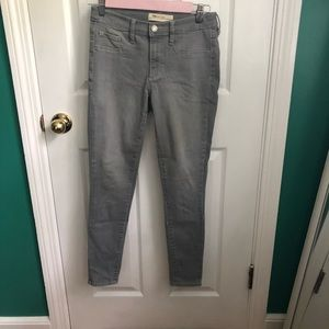 Gap 1969 gray legging 26R